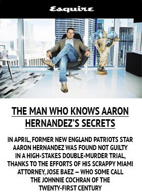 El hombre que conoce el secreto de Aaron Hernandez